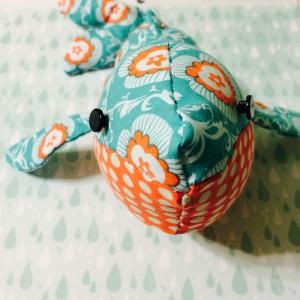 handmade whale toy