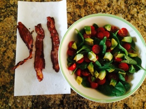salad no chicken